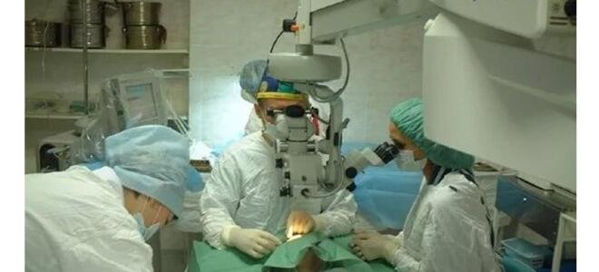 Операции при глаукоме