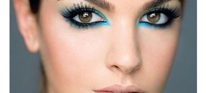 Зелено-карие глаза