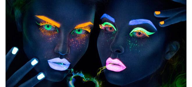 Светящиеся линзы для глаз