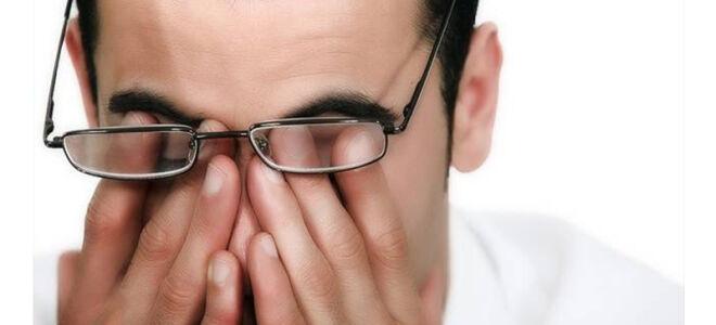 Боль в глазу при надавливании