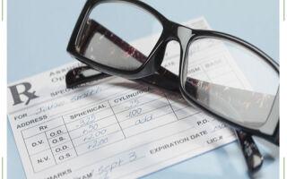 Рецепт на очки: как выписывают и расшифровка