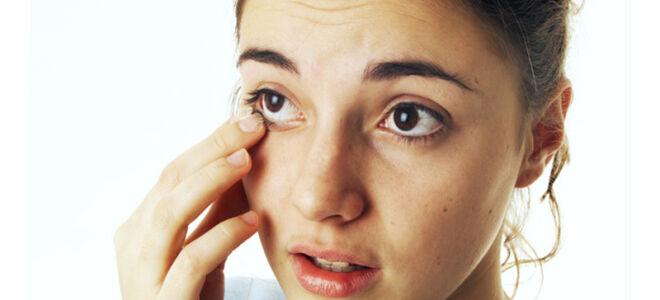 Как вынуть соринку из глаза