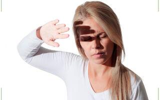 Светобоязнь глаз (фотофобия)