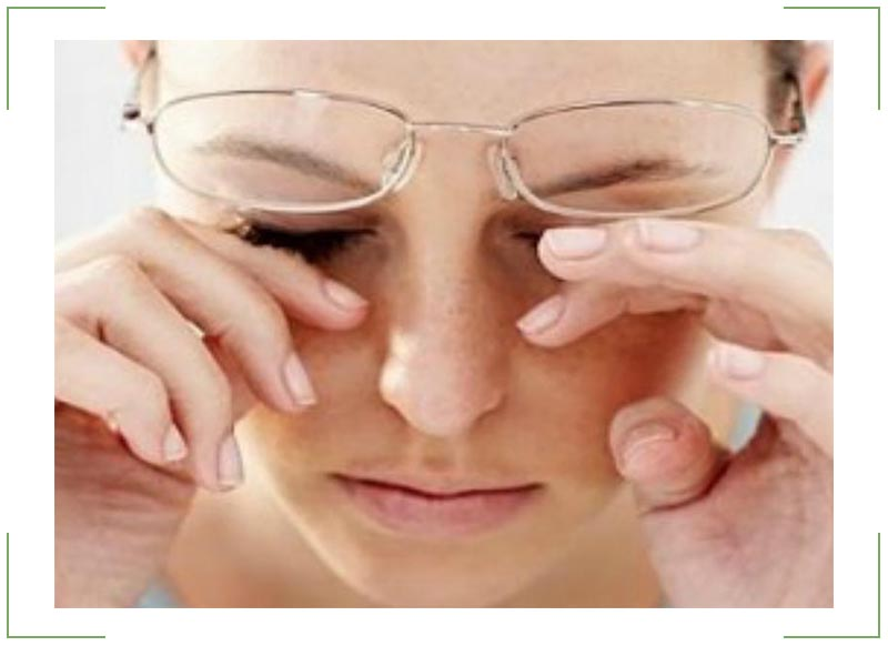 Болят глаза как будто давят и мутнеет