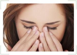 Рябь в глазах, потом головная боль: причины