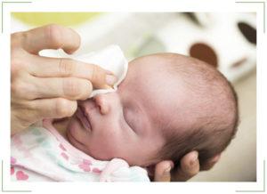 Чем можно промывать глаза при конъюнктивите ребенку