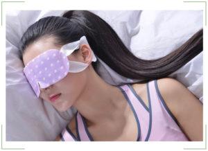 Сон с повязкой на глазах польза