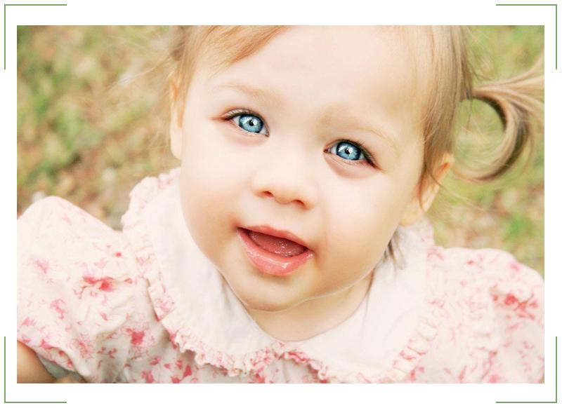 Мешки под глазами у ребенка до года