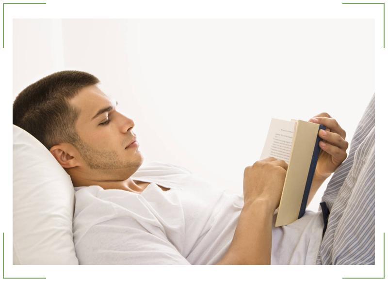 не читайте лежа