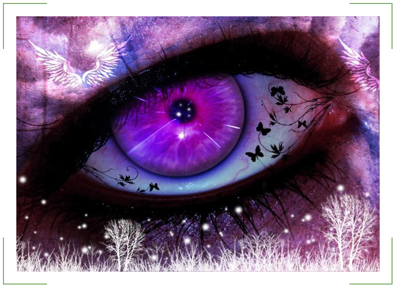 фиолетовые глаза 2